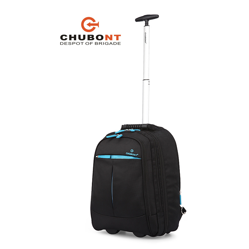 Chubont Hot Sell Waterproof 1680d Wheeled Laptop Trolley Backpack