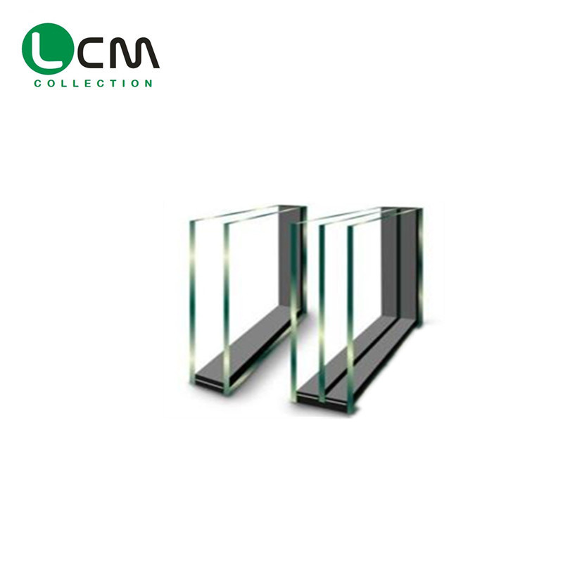 24mm Thick Igu Glazing Units 6mm Thick Extra Clear Glass Heat Strengthened with Low-E