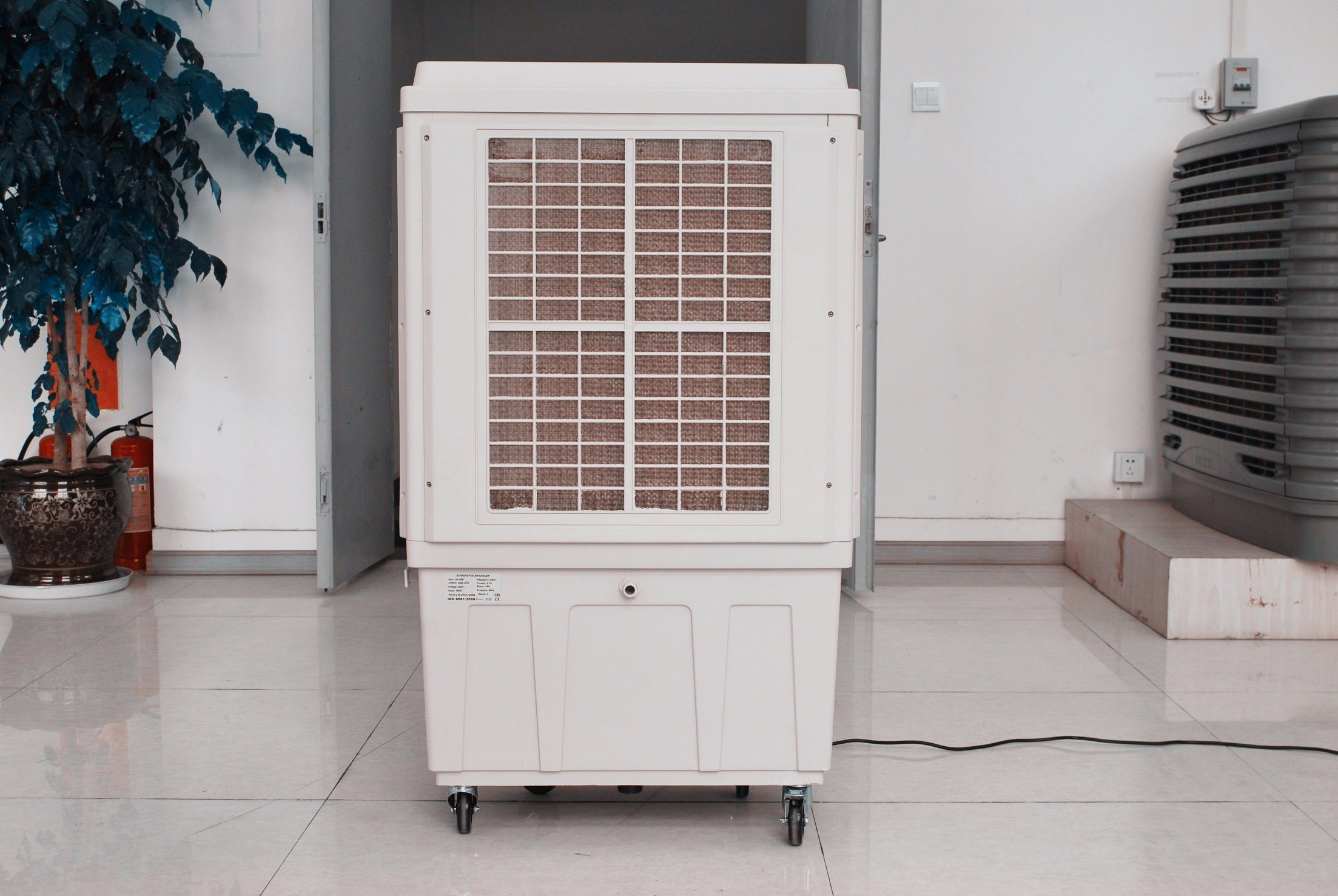 Mobile Floor Standing Evaporative Air Conditioner for Restaurant (JH165E)