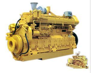 8-Cylinder Marine Engine (500-720kW) Water Cooled Lightweight Low Fuel Consumption