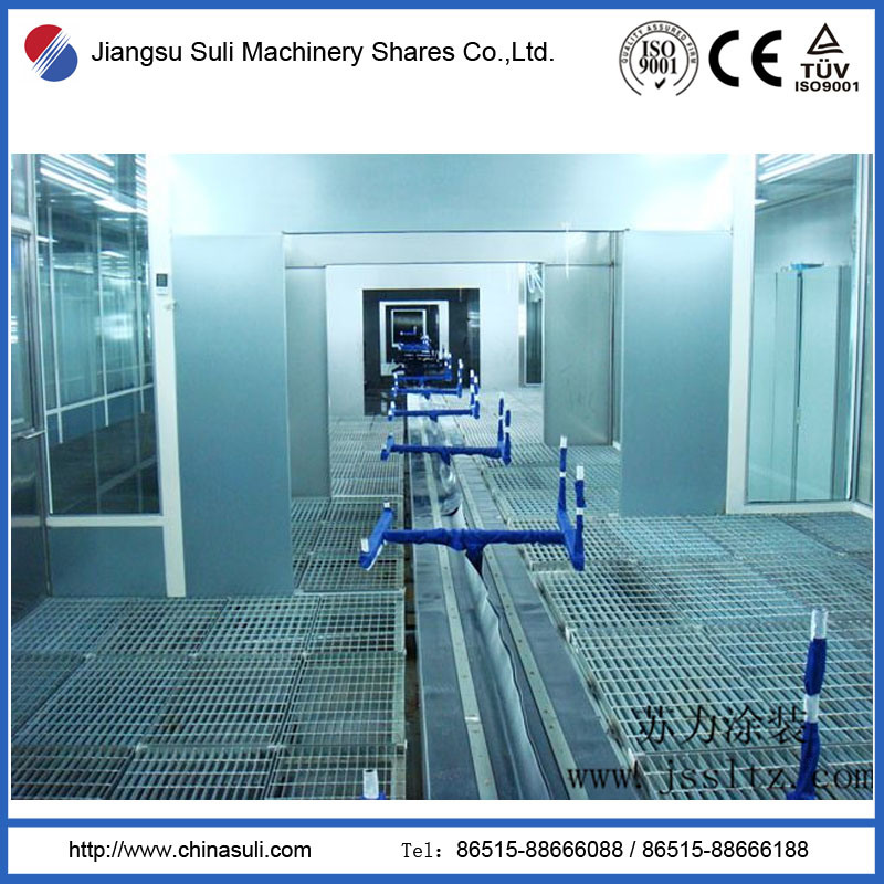 China Suli Shares Car Powder Spray Booth for Coating Line