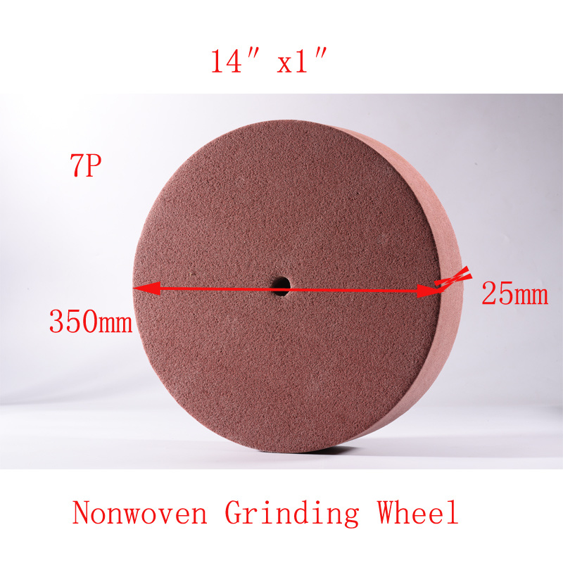 "14""X1"" 7p Resin Bond Grinding Wheel Flap Wheel Polishing Wheel"