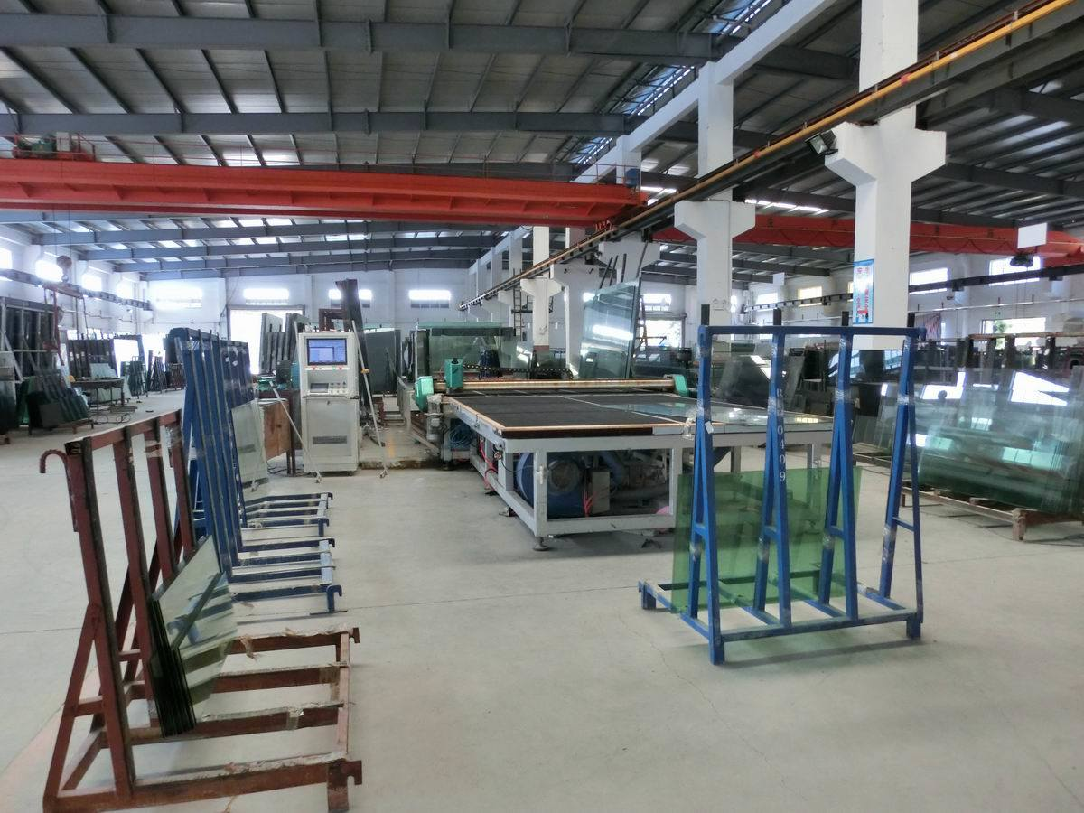 Tempered Laminated Glass Window / Wall Tempered Glass Tempered Laminated Glass