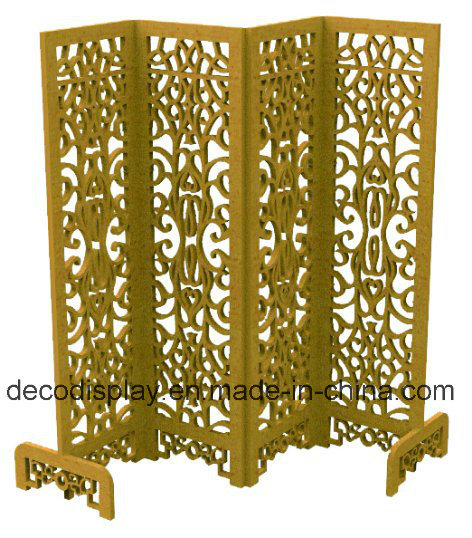 Cardboard Paper Furniture Paper Screen Chinese Traditioal Room Decoration