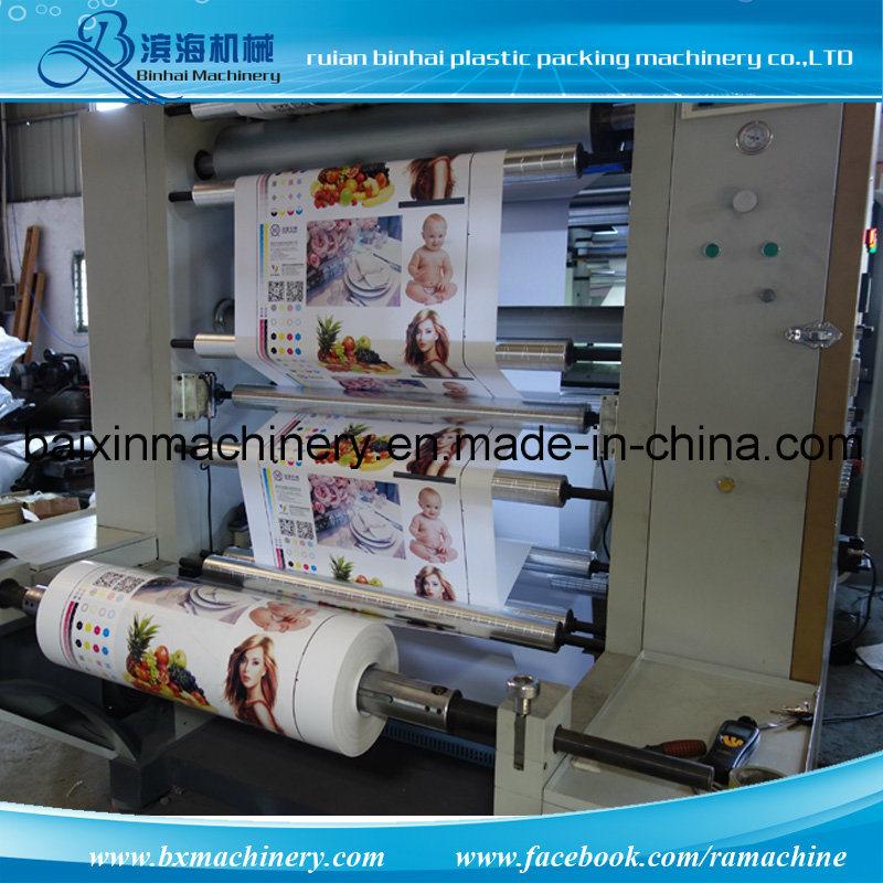 Belt Control Chamber Doctor Blade Flexo Printing Machine