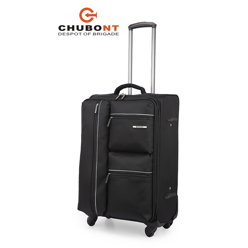 Chubont Hot Sell High Quality 4PCS Leisure Soft Luggage Set