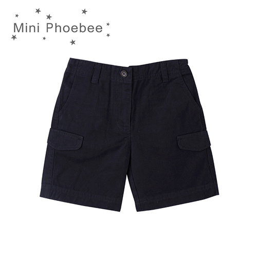 Phoebee 100% Cotton Children Clothing Boys Short Pants for Summer