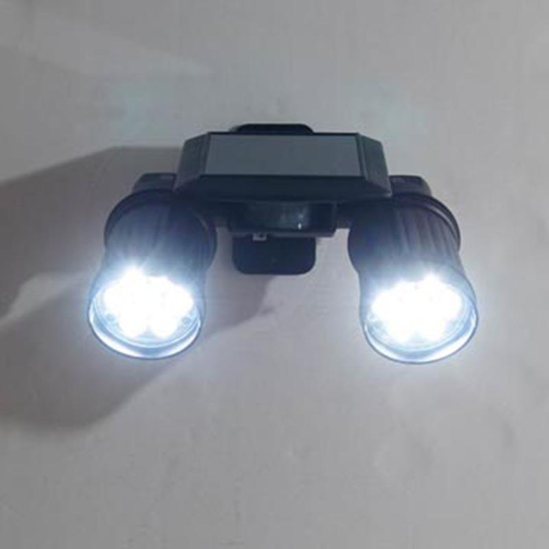 Patent LED Solar Power PIR Sensor Light Waterproof IP44 Garden Solar Wall Soptlight