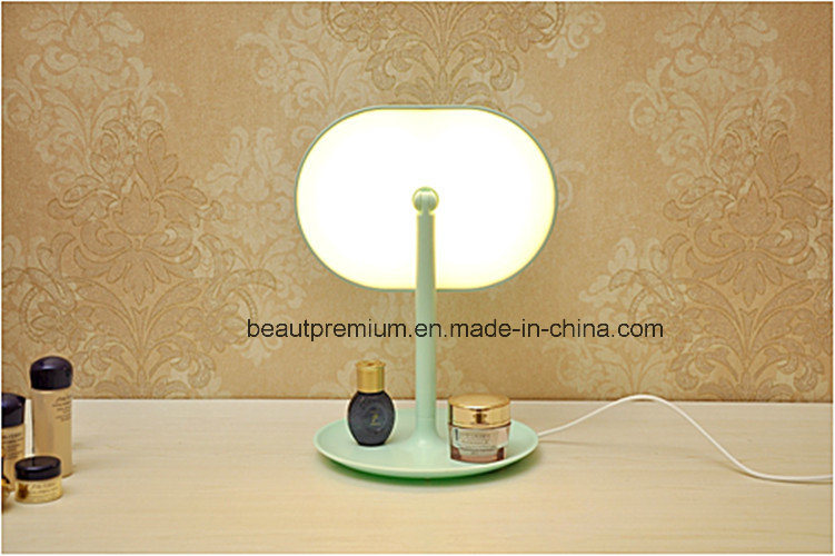 Fashion LED Multifunctional Table Mirror L′oreal Audit Make up Mirror BPS0117