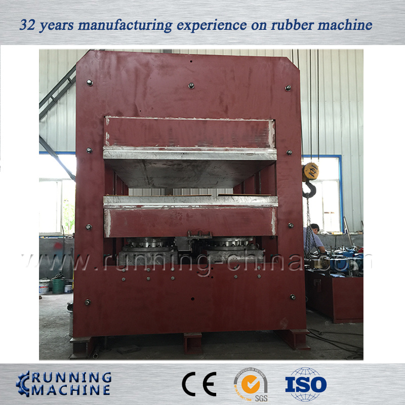 Huge Frame Structure Rubber Hydraulic Vulcanizing Press Machine (Xlb-D800X800)