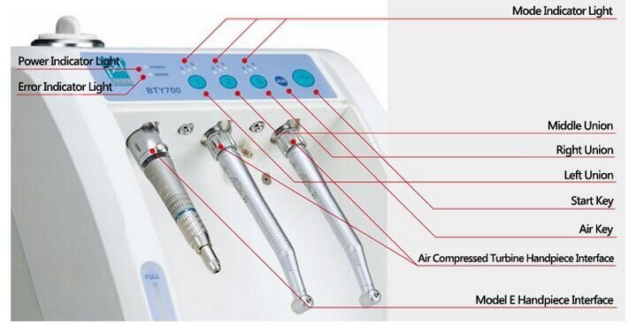 Hot Sell Dental Supply Digital Handpiece Cleaning Lubricant Device