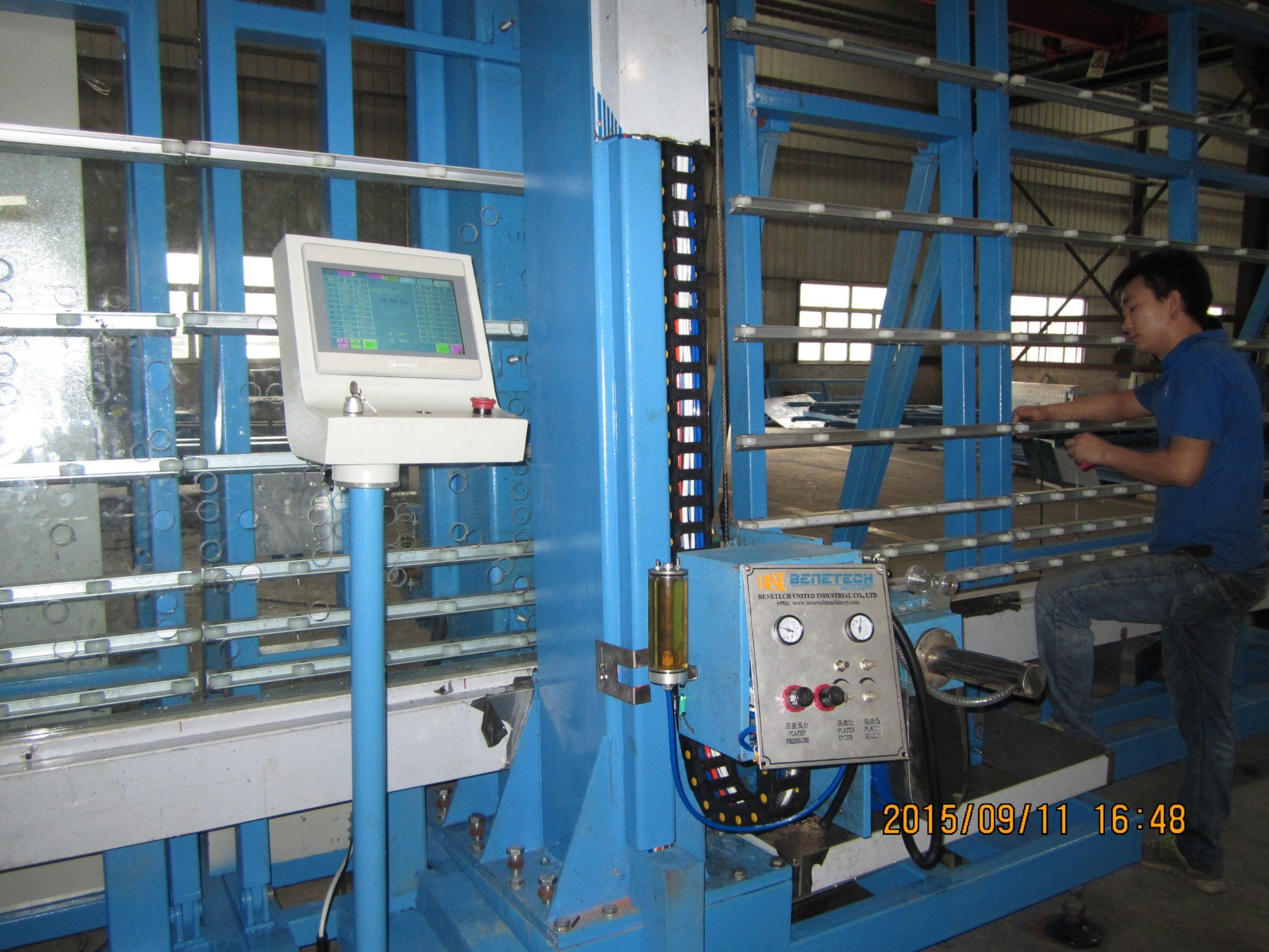 Glass Drilling Machine Vertical Bvd-2