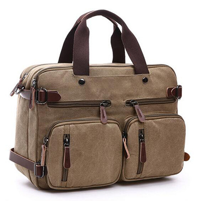 Manufacture Canvas Tote Bag for Men Big Size Sy7855