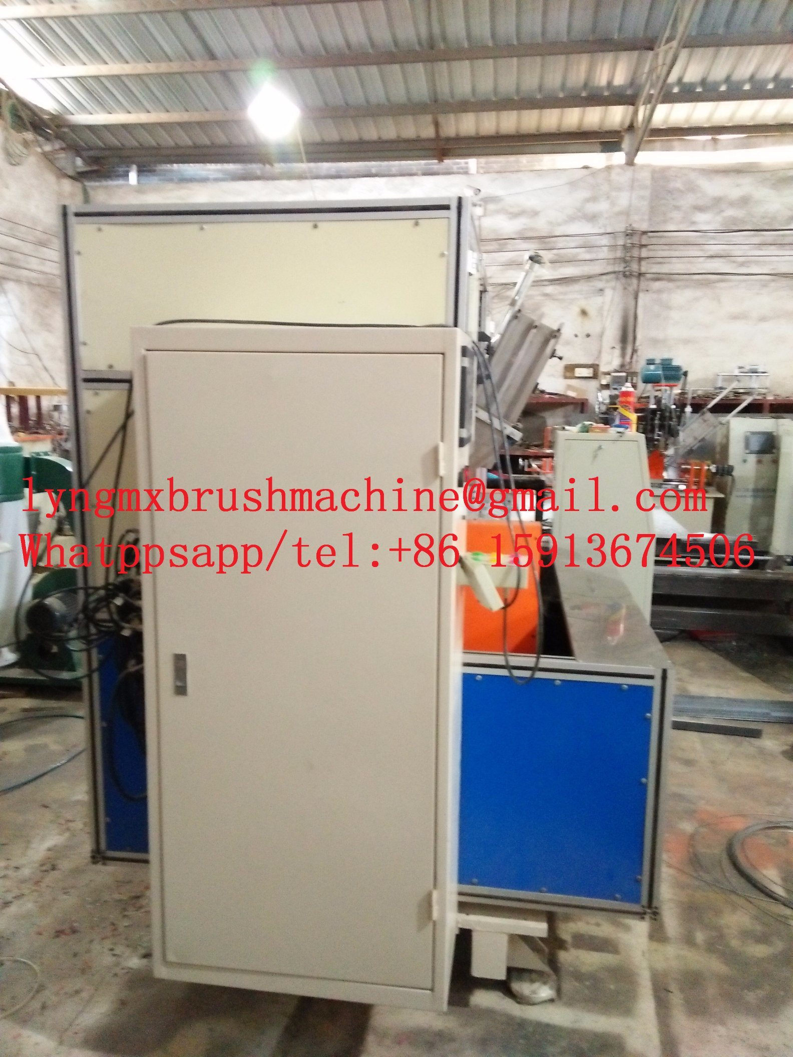 Automatic CNC 5 Axis Brush Machine