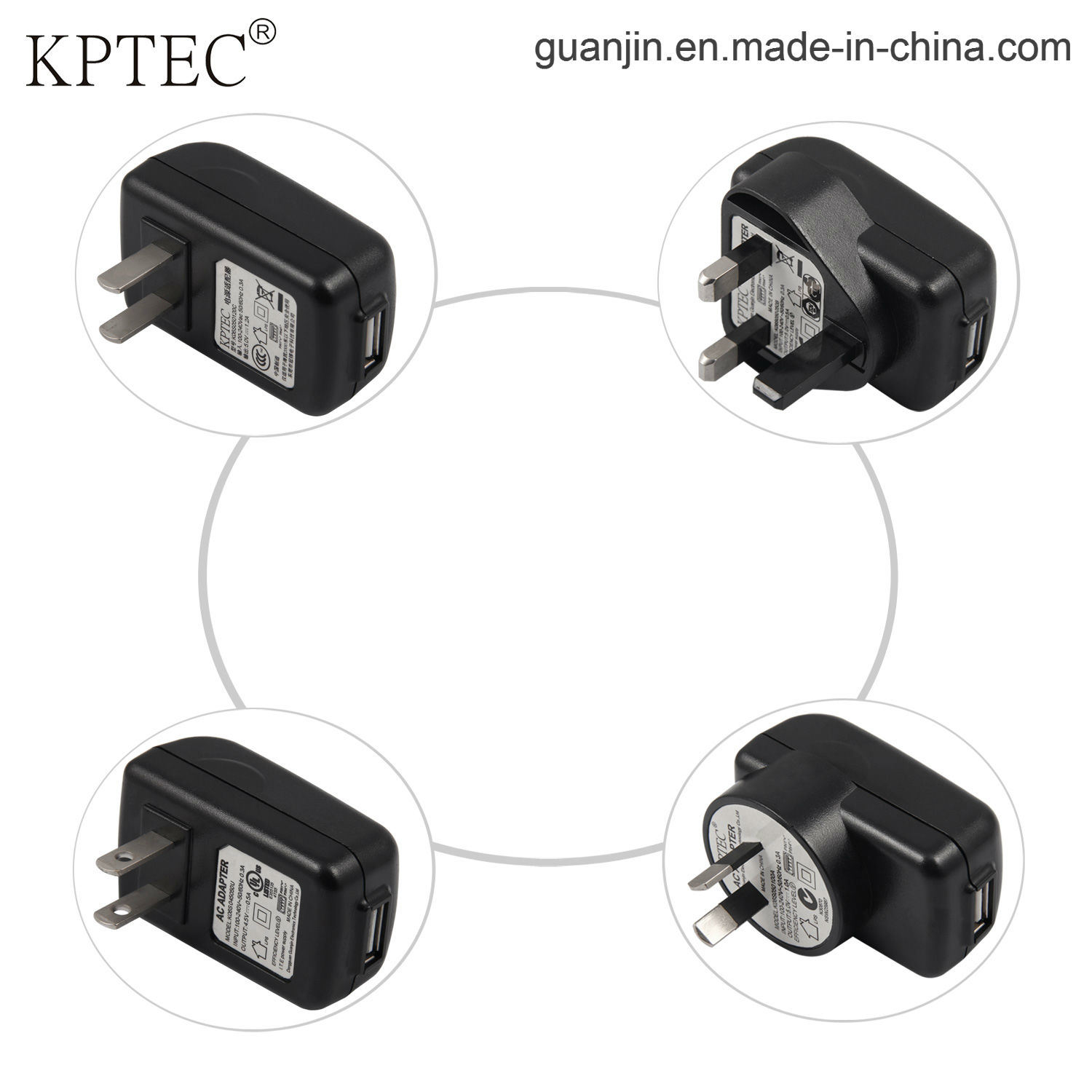 AC Adapter 9V/1A Standard Plug with Small Home Appliance Product