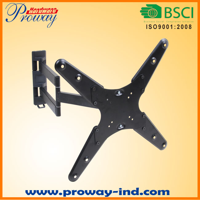"""Full Motion TV Wall Mount TV Bracket Vesa up to 400*400 for Most 12""""-55"""" LED LCD Tvs"""