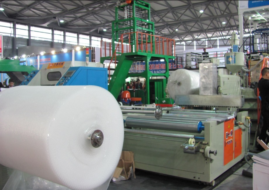 PE Bubble Film Making Machine (One Extruder) 2 Layer (CE)