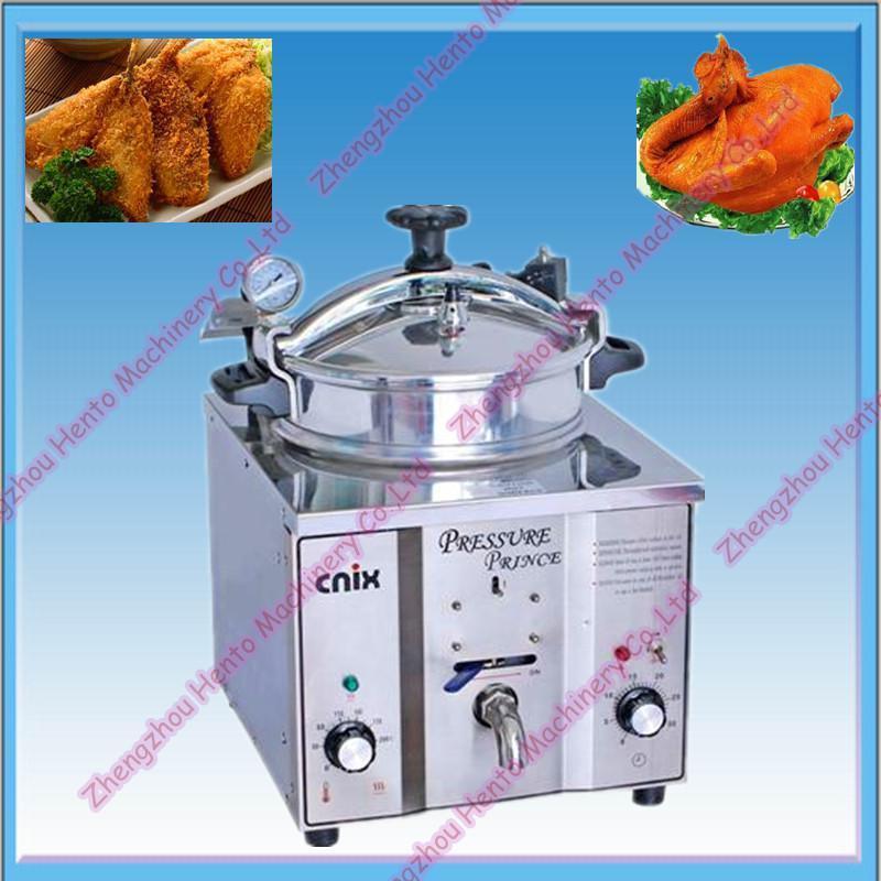 Table Type Electric Bakery Equipment Pressure Fryer Machine