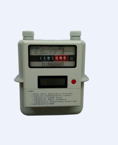 GS 1.6/2.5/4 Wireless Gas Meter, AMR, GPRS, Lora Tech9