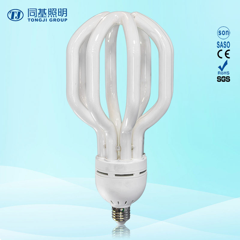 Energy Saving Lamp 125W Lotus Halogen/Mixed/Tri-Color 2700k-7500k E27/B22 220-240V