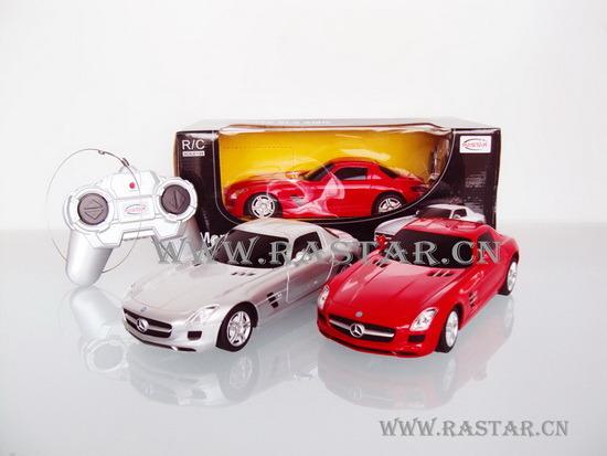 China 1 24 mercedes benz sls amg rc car 40100 china for Mercedes benz rc car