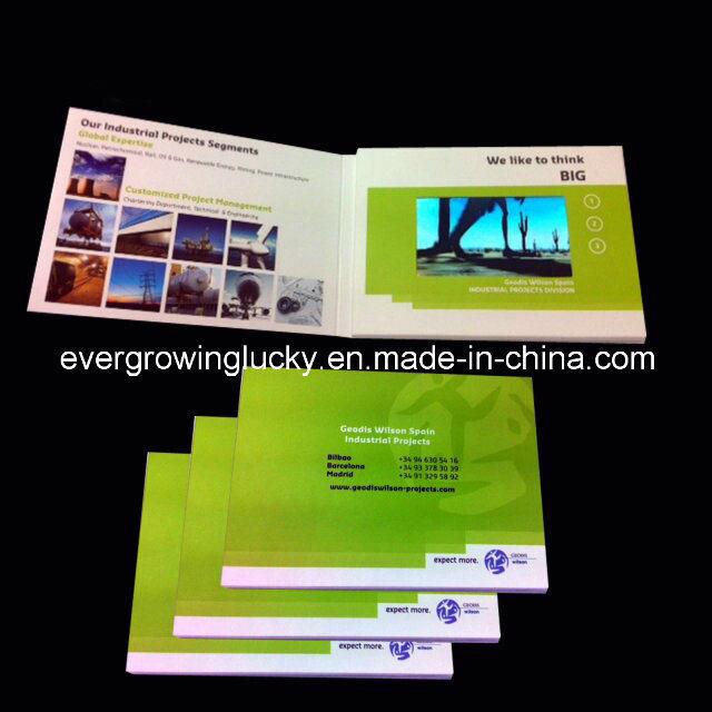 Custom LCD Video Invitation Card
