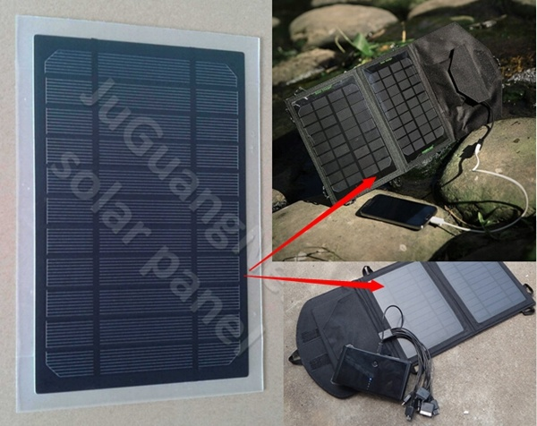 3.5W Solar Panel, Pet Solar Panel for Solar Phone Charger (J-210X135A)