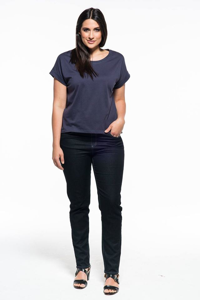 Nice Fitting Womens Raglan Sleeve Cotton T-Shirt