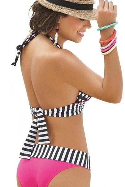 Polka DOT Bikini Set Sexy Swimsuits Swimwear Beachwear