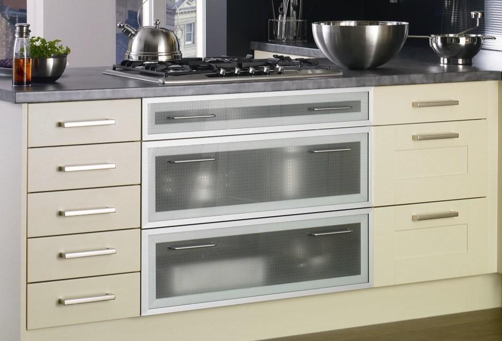 Solid Wood Kitchen Furniture Modern Kitchen Cabinet #158,