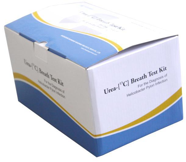 H. Pylori Urea Breath Test Kit for Laboratory and Hospital
