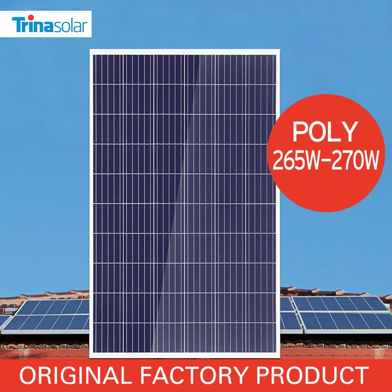 Trina Poly Solar Cells Panel / Module 250W 265W 270W