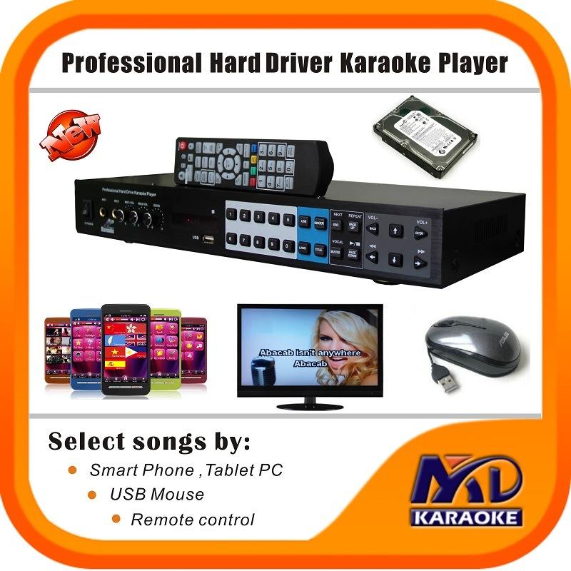 Hard Driver HDD Karaoke Player KTV Machine