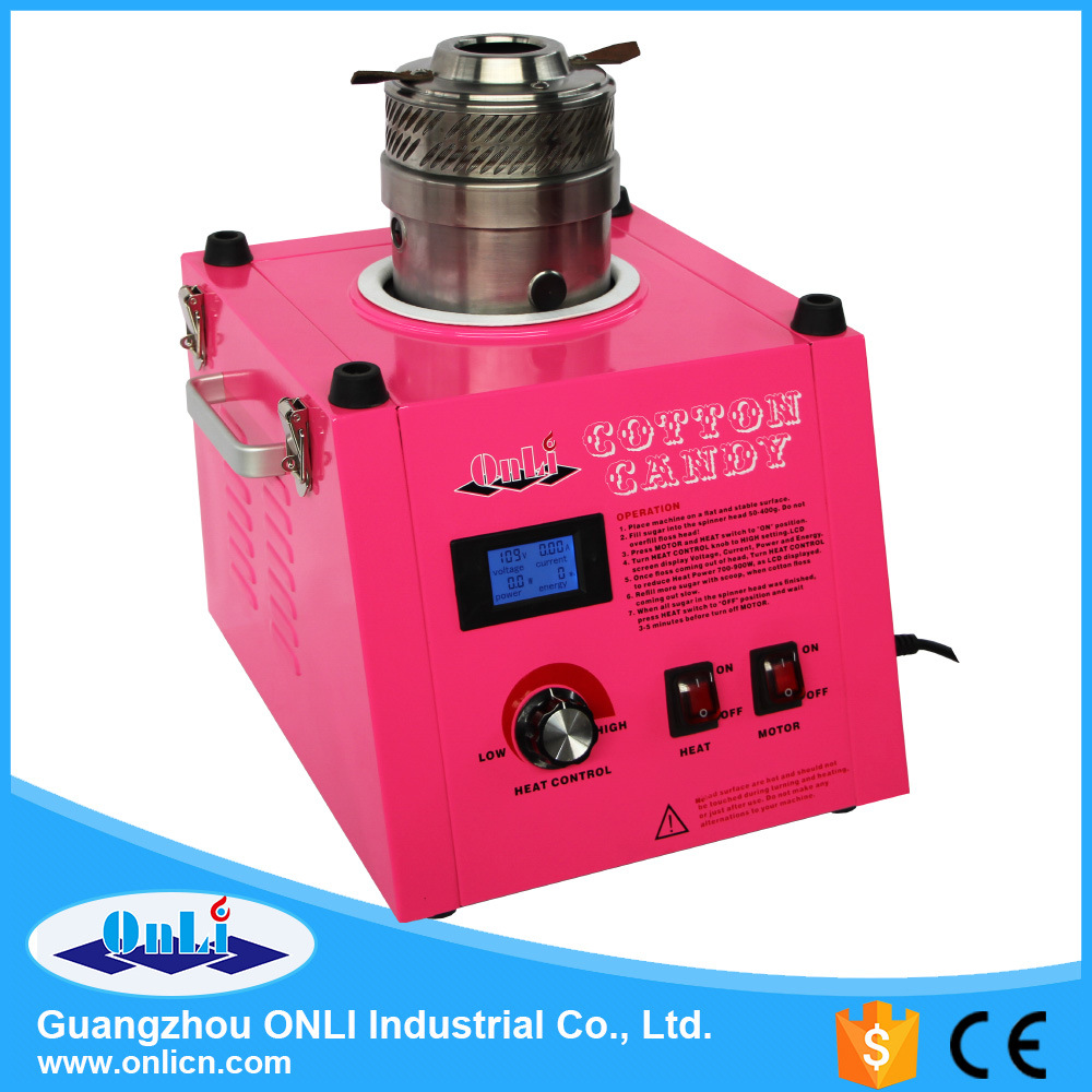 Professional Commercial Digital Cotton Candy Floss Machine