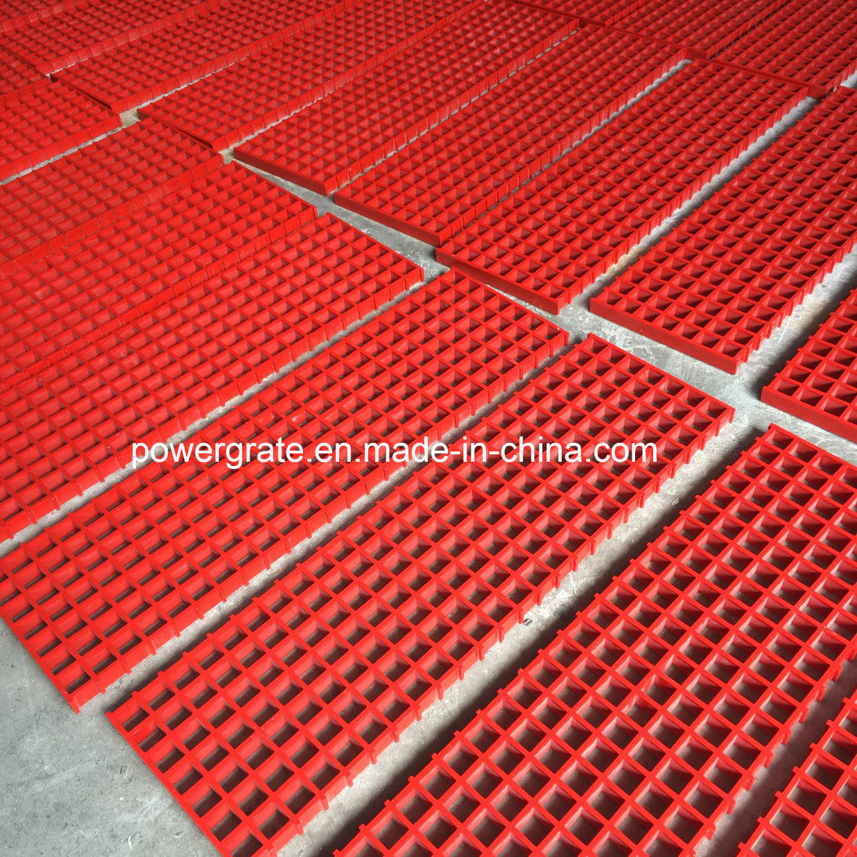 Smooth Surface Fiberglass Grating