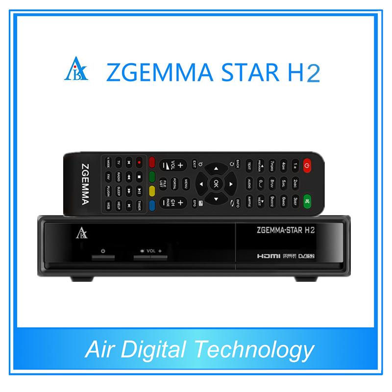 2015 Top Selling Zgemma H2 Combo DVB S2 DVB T2 Satellite Receiver Zgemma - Star H2