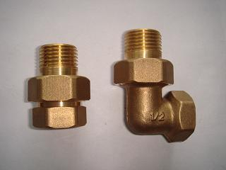 Straight Union with Extension M/F (Hz8044) of Brass Fittings