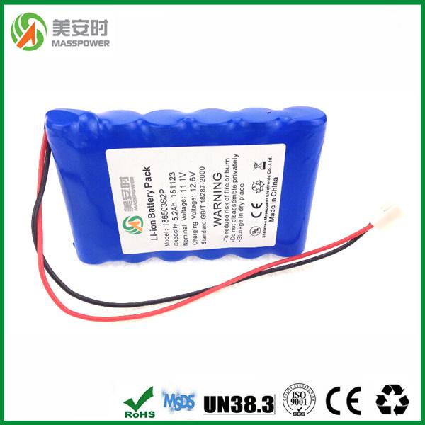 Lithium Ion Battery 12V 5200mAh