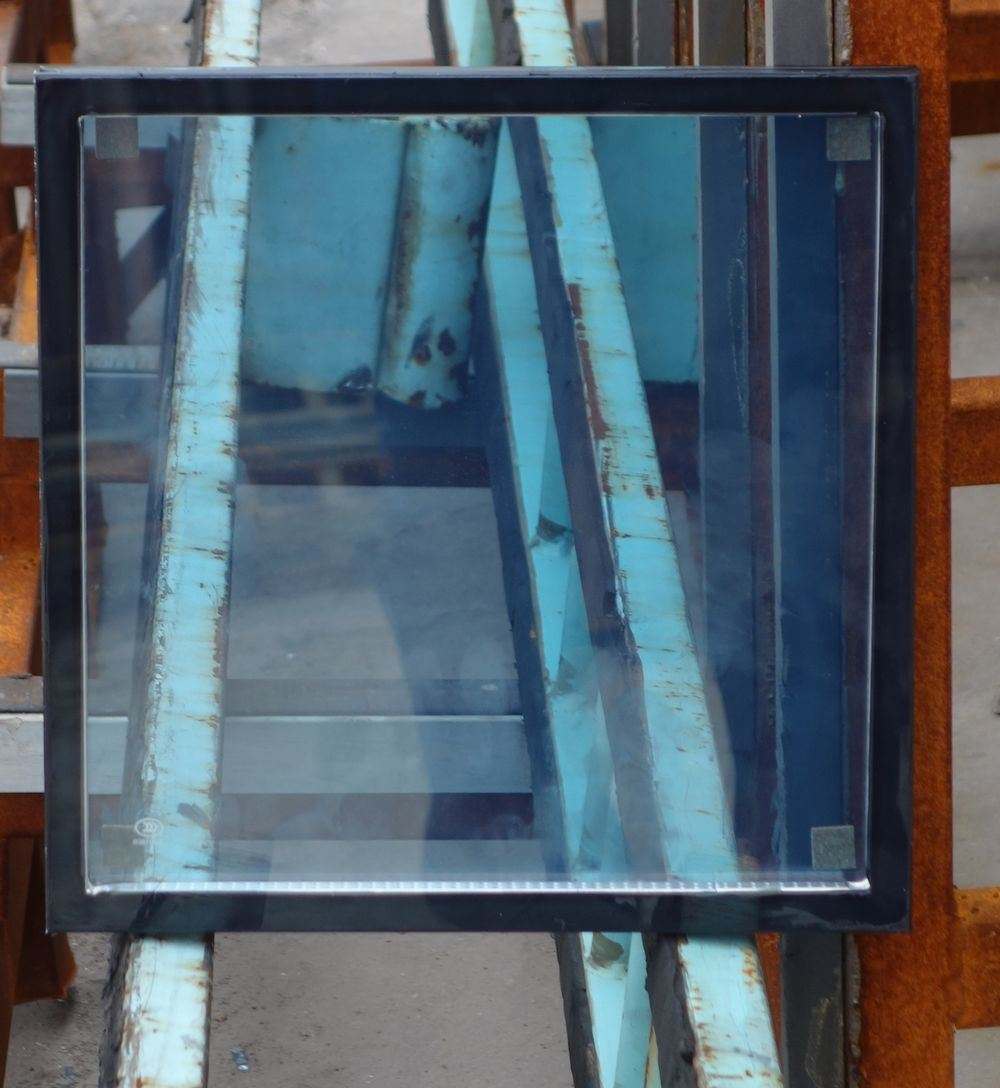 Blue High Performance Low-E Glass