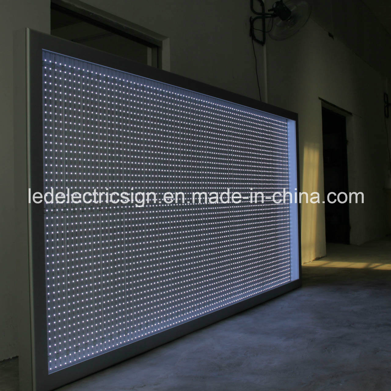 Large Size Photo Frame with Aluminum Frame LED Light Box for Advertising Display