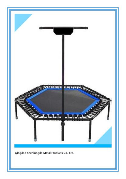 Bungee Trampoline with Adjustable Bar Indoor Trampoline