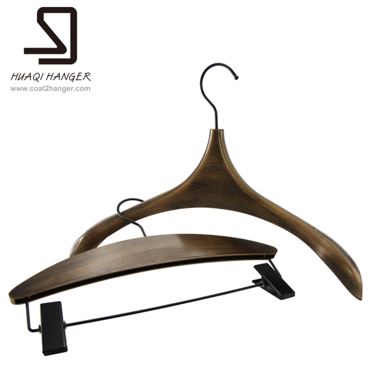 Vintage Plastic Luxury Clothes Hangers for Store Display