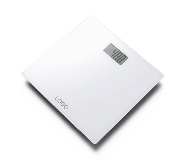 Glass Electronic Weighing Scale with Full Plastic Base