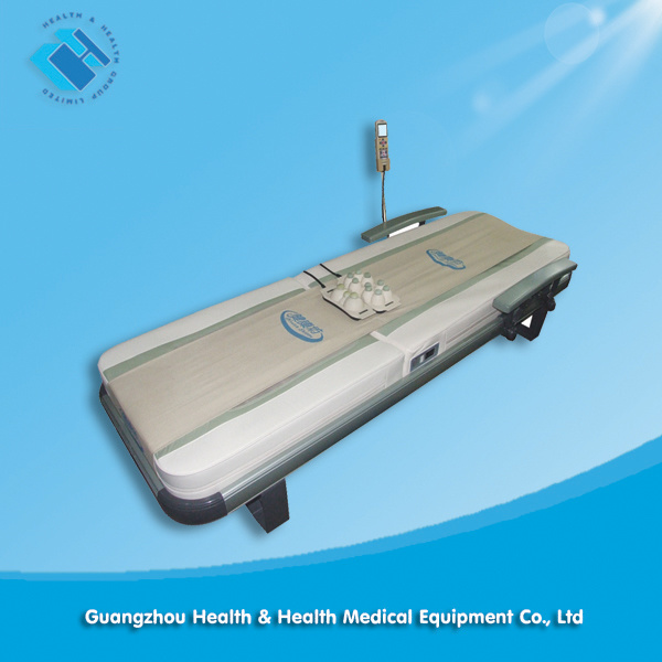 Thermal Therapy Jade Roller Massage Bed (CE Certified) for Spine Adjustment