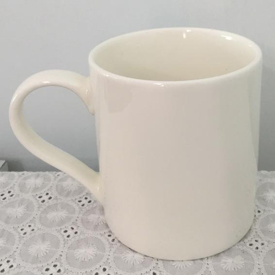 Super White Porcelain Mug - 14CD24362