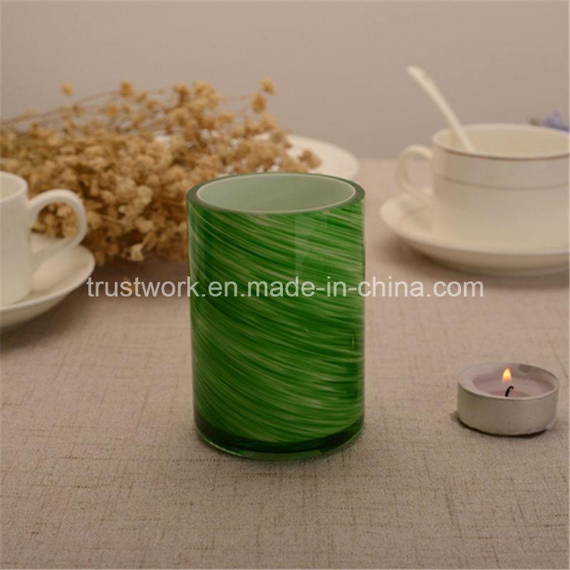 American Hospitality Handblown Glass Candle Holders