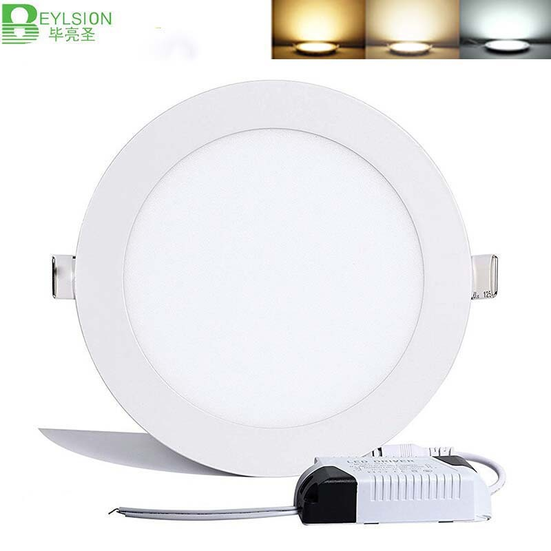 18W Round Recessed LED Panel Lightings