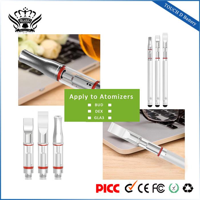 China Factory Direct Sale 510 Vape Pen Battery Ecig Slim Battery 4-Step Voltage-Adjustment