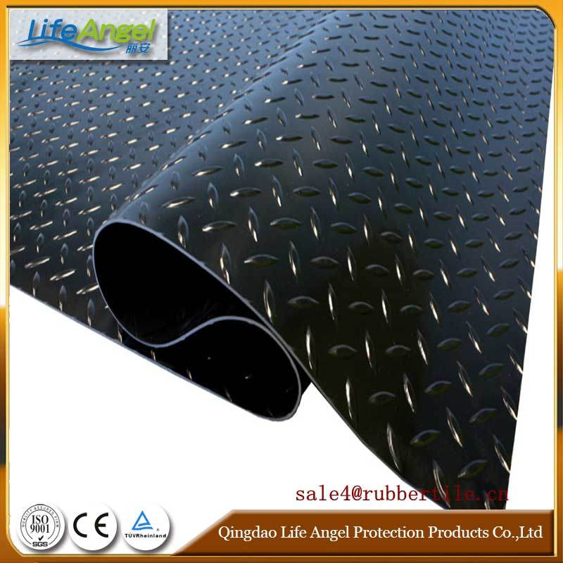 High Quality Rubber Sheet with Nylon Insert / Insertion and Reinforced Fabric