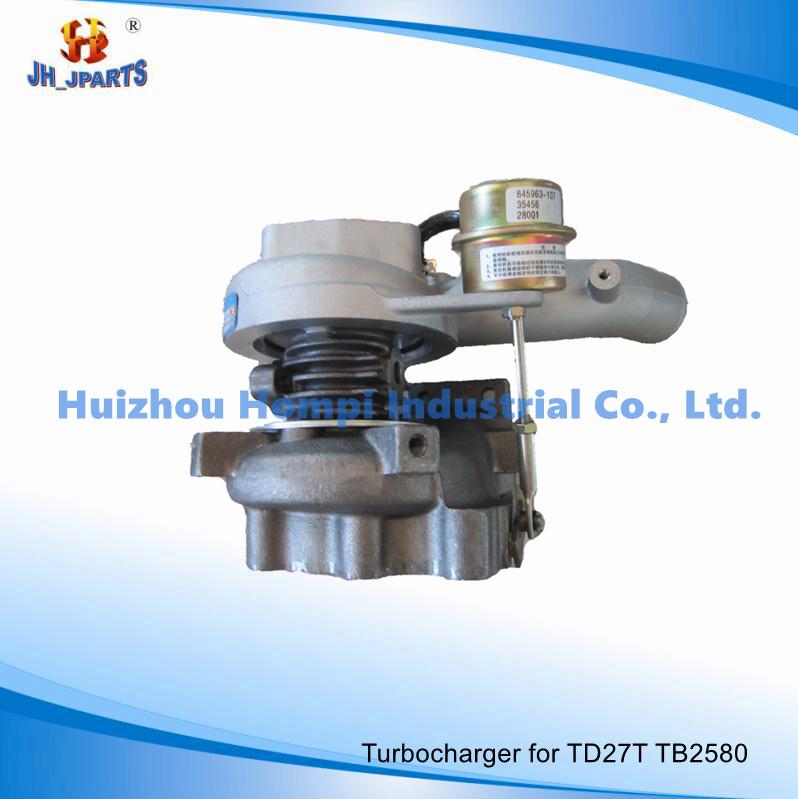 Auto Parts Turbocharger for Nissan Td27t Tb2580 Tb25/Tb2527/Ht12/T2052s 14411-G2407